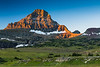 Reynolds Mountain at Logan Pass