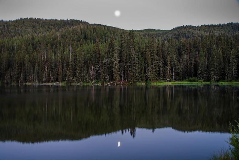Rat Lake Moonrise