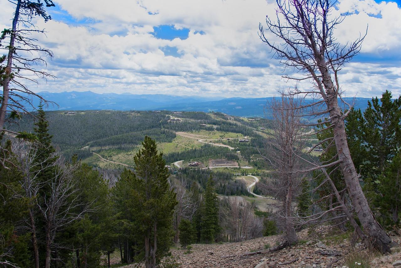 View-Upper Moose Tracks Trail