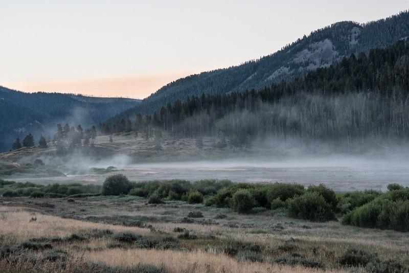 Early Morning-Gallatin River-1