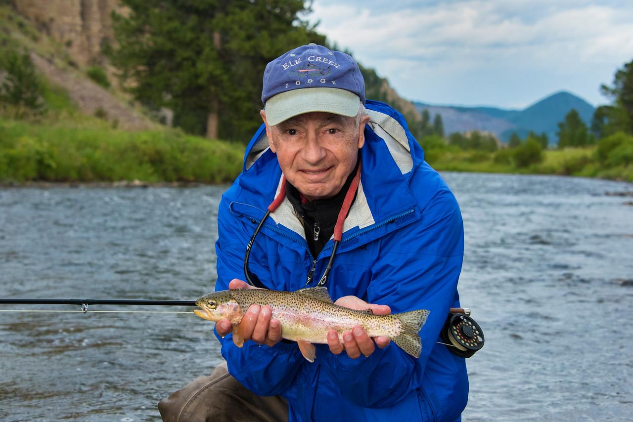 Dale w Rainbow Trout-Gallatin River