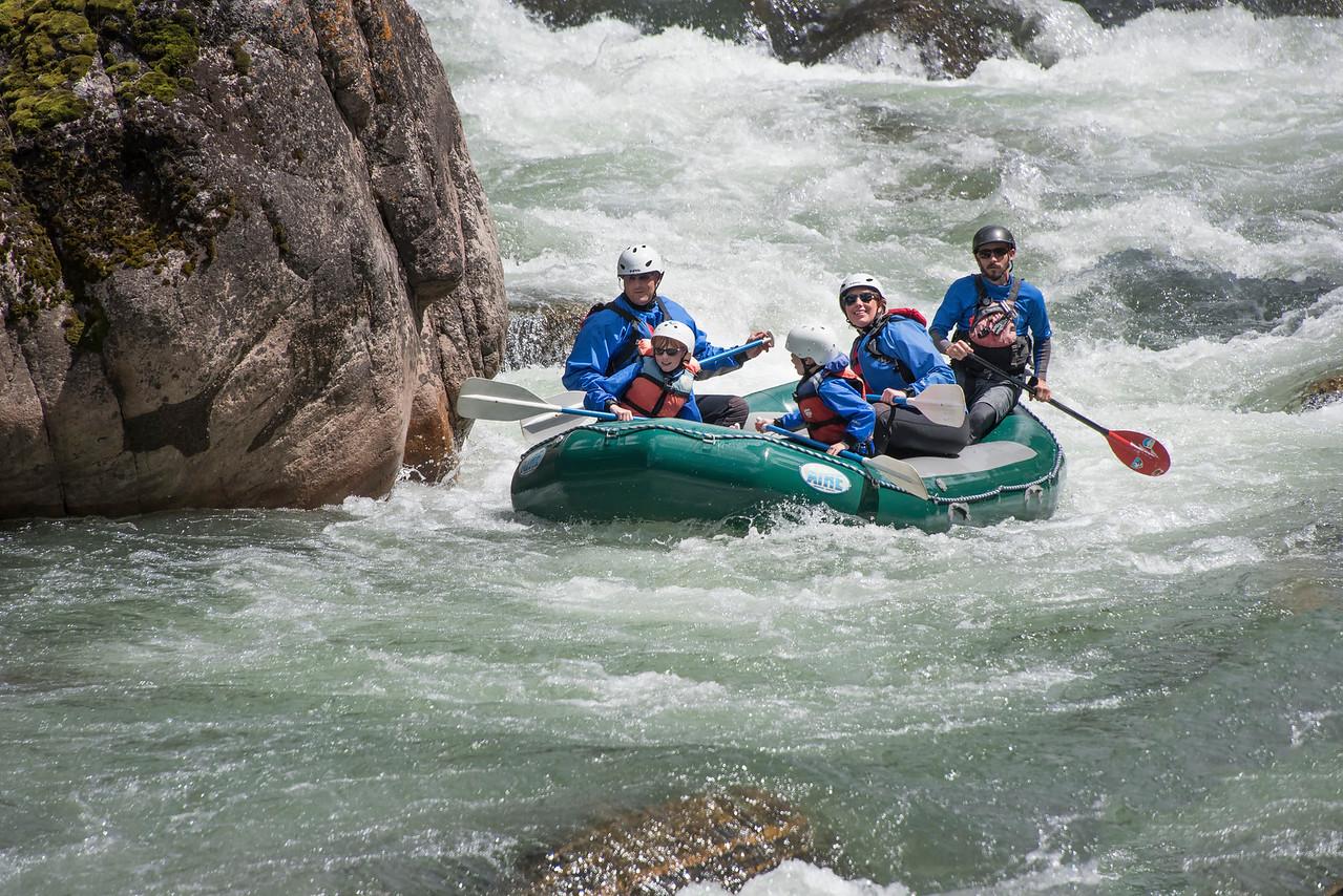 Rafting House Rock Rapids