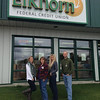 The lovely staff at Elkhorn FCU in Helena are sportin' their jeans in honor of Miracle Jeans Day.