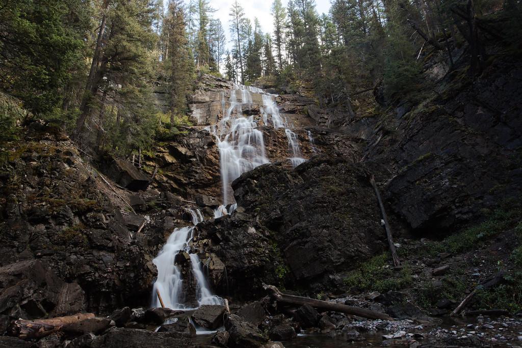 Morrell Falls, Montana - near Seeley Lake, MT (2 of 2)
