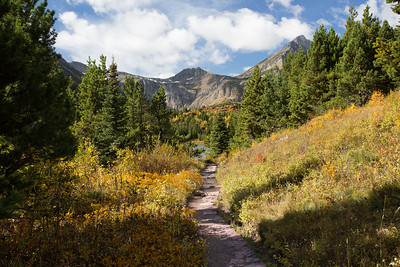 Glacier National Park - Many Glacier Area - Redrock Trail-1062-17