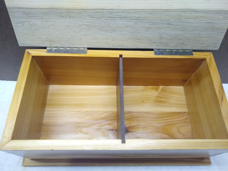 Sample: Specialty Box that can be Customized  for recipes, notes, keepsakes etc.