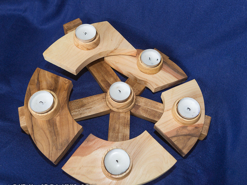 Item # 200 Tea Light Centerpiece $45