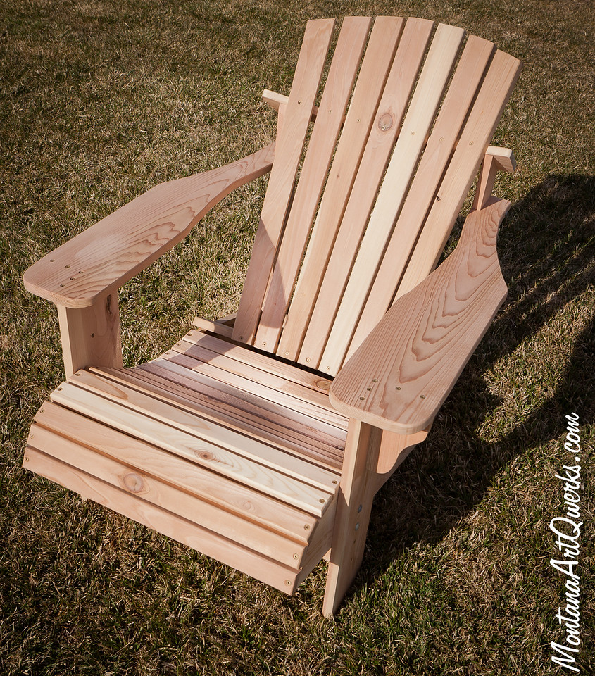 Cedar Adirondack Chair