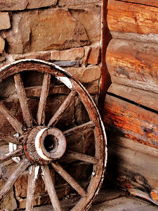 Wheel at the Ranch