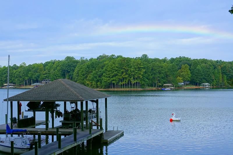 Smith Mt Lake Rainbow