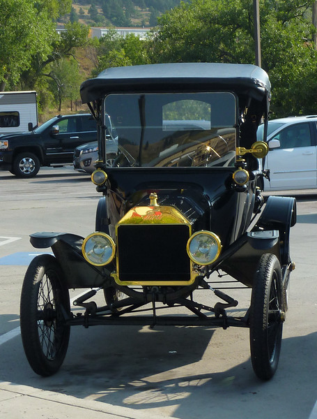Model T Ford.  Sturgis SD