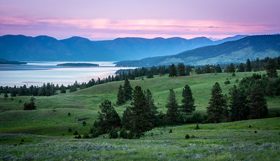 Evening at Flathead Lake