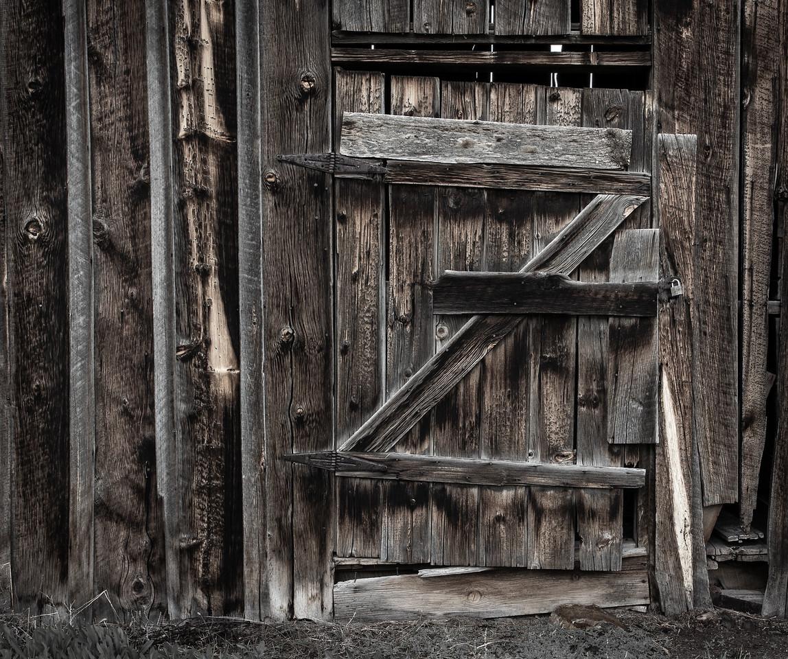 Montana Backroad Barndoor