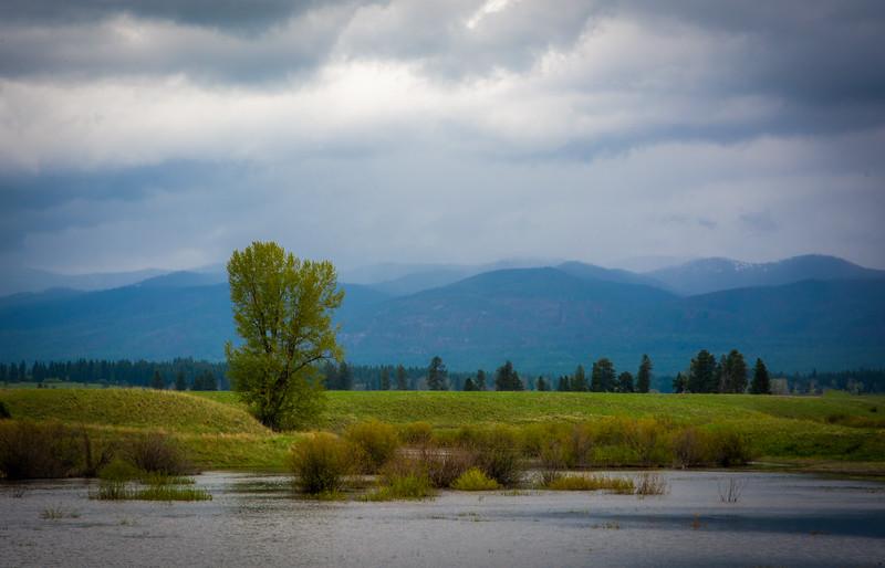 Storm on Montana Rt. 200