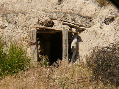 Old mine near the Flathead River