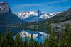 St. Mary Lake in Glacier National Park, Montana, USA.