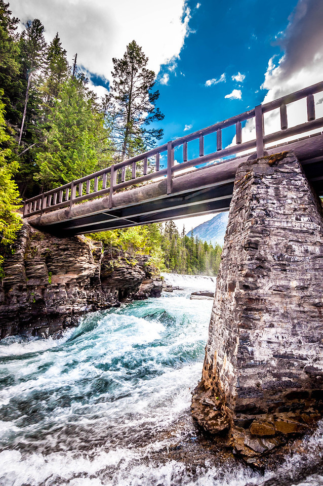 Rush - Glacier National Park, MT, USA