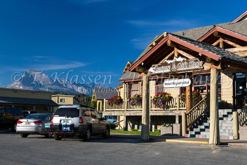 St. Mary Lodge in Glacier National Park, Montana, USA.