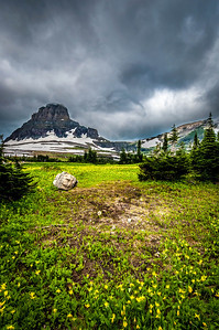 Reynolds Mountain - Glacier National Park, MT, USA