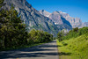 Going to the Sun Road in Glacier National Park, Montana, USA.
