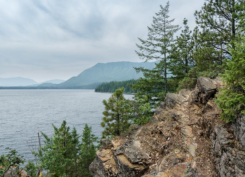 Rocky Point. Lake McDonald - 2