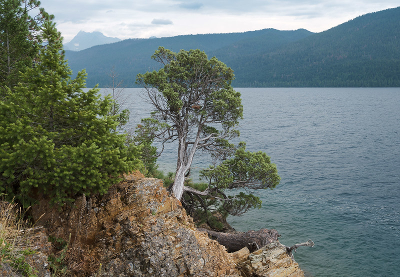 Rocky Point. Lake McDonald - 1