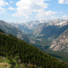 Scenery along Beartooth Highway, Montana