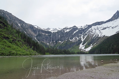 Avalanche Lake in Glacier Park. Of course we missed the black bear that was walking along the shore about 5 minutes before we arrived!
