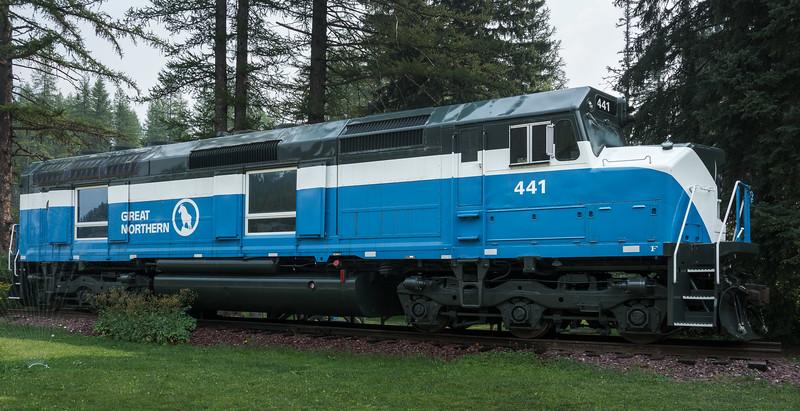 Great Northern Railway. Locomotive