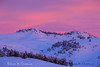 The sun rises over the Stillwater Plateau, near Fishtail, MT, on a cold winter morning.