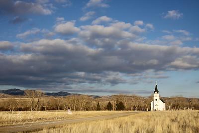 St. John the Evangelist Catholic Church - Boulder, MT