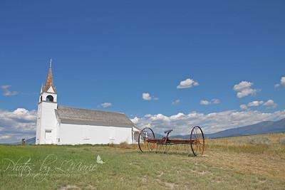 St. Joseph's Catholic Mission Church - Townsend, MT