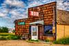 A Bar Cafe in Gilford, Montana, USA.