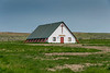 The Sand Springs Community Church in Sand Springs, rural Montana, USA, America.