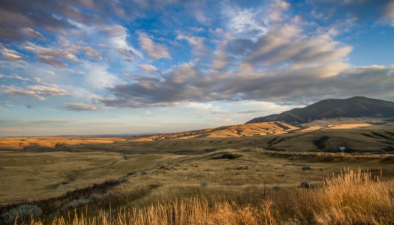 Plains Near Red Lodge, MT