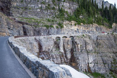 Triple Arches, Going-to-the-Sun Road, Glacier National Park