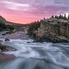 Sunrise, Swiftcurrent Creek, Glacier National Park