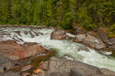Yaak Falls on the Yaak River, Northwestern Montana