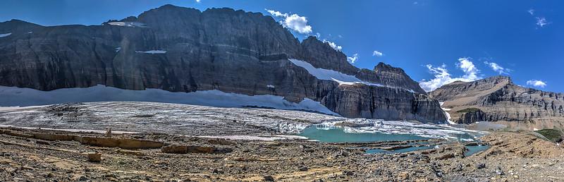 Shrinking Glacier