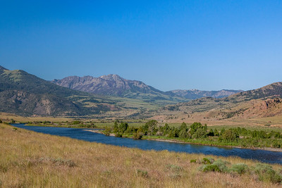 Yellowstone River, Paradise Valley, Montana