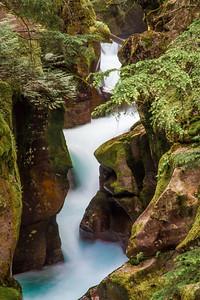 Avalanche Gorge, Glacier National Park