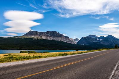 The Road to Many Glacier