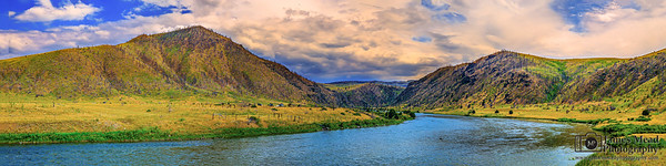 """River Run,"" Madison River Sunset, Madison River, Montana"