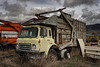 1972 International 1950B Bemars Half Pack Front Loader