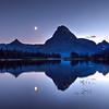 Two Medicine Moonset