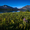 Sunrise at Two Dog Flats in the St. Mary Valley in Glacier National Park in Montana.  Photo by Kyle Spradley | www.kspradleyphoto.com