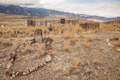 Gardiner Cemetery, Absaroka Mountains