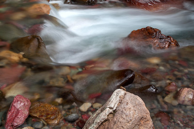 Water and Rocks of Baring Creek