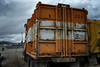 1981 Western Star Road Expeditor 2 Maxon Half Pack Front Loader