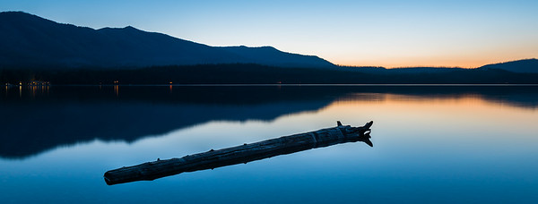 Blue Hour Lake McDonald
